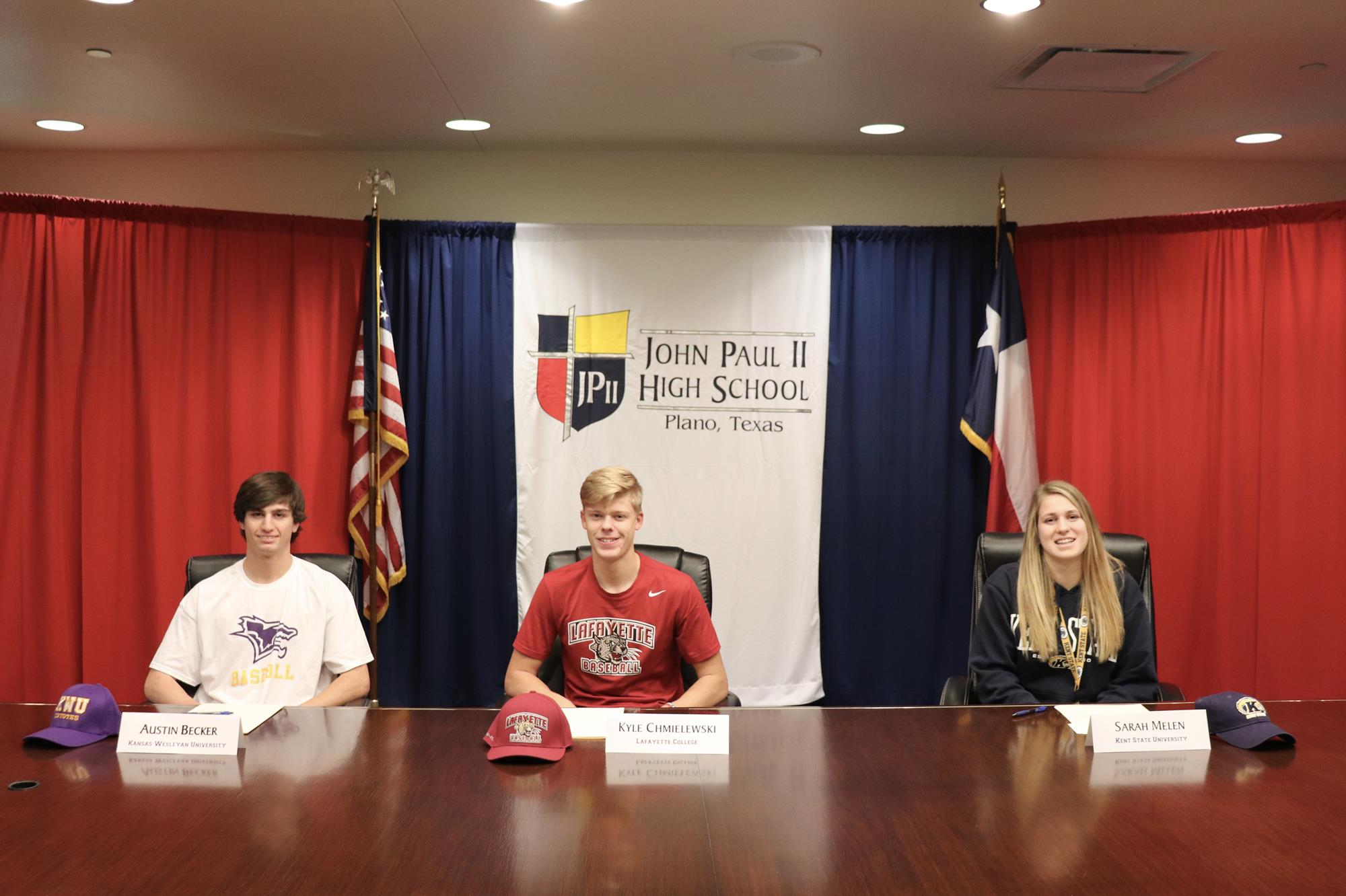 Three Cardinal Athletes commit on National Signing Day